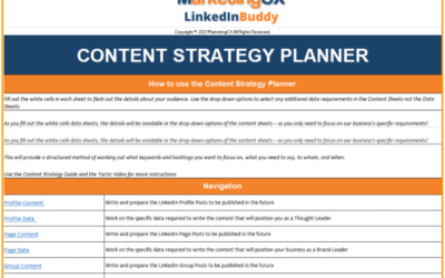 The Easy 7 Step LinkedIn Content Strategy